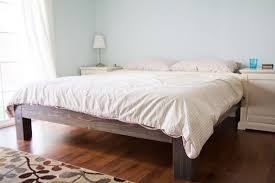 Building A Platform Bed With Headboard by 18 Gorgeous Diy Bed Frames U2022 The Budget Decorator