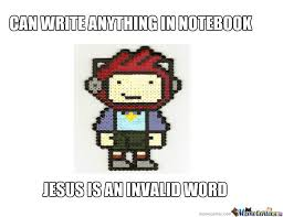 Scribblenauts Memes - scribblenauts logic by fixitfelixjunior meme center