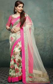 latest designer net sarees 2016 with price in india women clothing