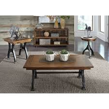 Freeds Furniture Arlington by Liberty Arlington House Cobblestone Drawer End Table Products