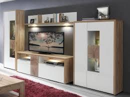 Wohnzimmerm El Eiche Modern Wohnzimmermöbel Modern Wohnwand Wandregale Weiß U2026 Pinteres