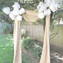 wedding arches diy the 25 best burlap wedding arch ideas on rustic