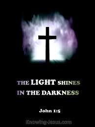 light in the darkness verse john 1 5 verse of the day