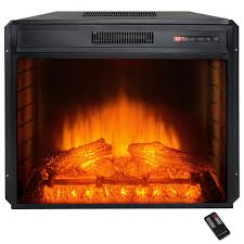 Electric Insert Fireplace 24 Electric Fireplace Inserts Fireplace Inserts The Home Depot
