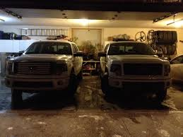 Big Car Garage by Can You Fit Your Big Ford And Another Car Comfortably Into A 2 Car