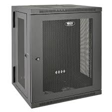 15u server rack cabinet smartrack 15u low profile switch depth wall mount rack enclosure