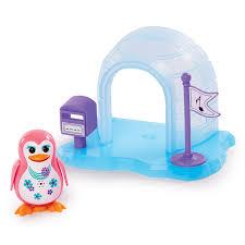 amazon com digi penguin alyx with igloo toys u0026 games