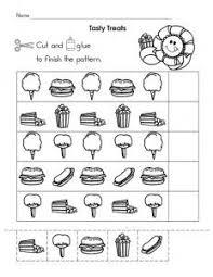 free printable shapes pattern worksheet crafts and worksheets