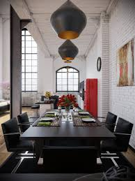 dining room industrial loft design industrial lofts 1 central