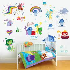 online get cheap kids wall stickers inside out aliexpress inside out movie cartoon kindergarten wall sticker for kids rooms nursery decals art poster home