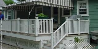 stationary free standing patio u0026 deck awnings atlantic awning