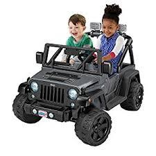 wheels for jeep amazon com power wheels deluxe jeep rubicon wrangler 12v ride on