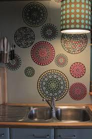 idee tapisserie cuisine papier peint cuisine papier peint rayures larges