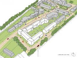 housing plans submitted for edinburgh u0027s former eastern general