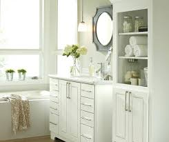 white bathroom storage drawerswhite bathroom cabinets by cabinetry
