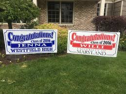 graduation sign o donnell sign company inc graduation signs