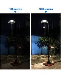 solar powered outdoor l post lights amazing deal 81 solar power 300 lumen motion street vintage l
