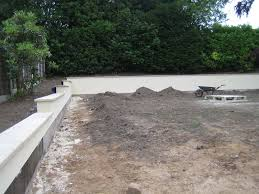 new contemporary garden on a sloping site in bramhall cheshire