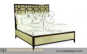 Dipan Kayu Kalimantan tempat tidur apartement kayu jati minimalis seri bunga harga murah