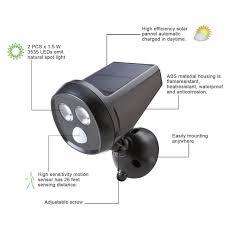 aliexpress buy outdoor wireless solar powered motion sensor