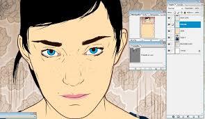 tutorial cara vector photoshop photoshop tutorial create vector portraits in photoshop digital arts