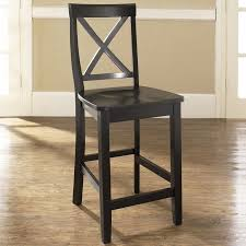 24 Bar Stool With Back Crosley Furniture X Back Bar Stool With 24