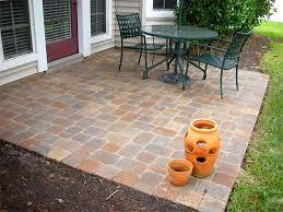 backyard ideas patio cheap simple designs and paver trends images