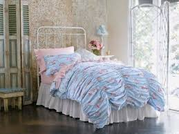 Shabby Chic Bed Frame French Shabby Chic Bedroom With Floral Bedding Shabby Chic