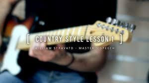 master u0027s speech william stravato country style lesson 1 youtube