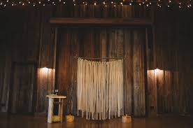 wedding backdrop altar seattle barn wedding jean shane