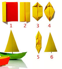 How To Make Boat From Paper - craft express make a paper boat rudy and the dodo