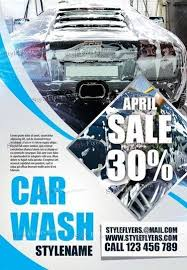 car wash psd flyer template 18713 styleflyers