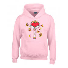 hoodie sailormoon sailor moon pink hoodie heart wand on the hunt