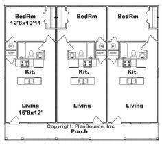 simple small house floor plans duplex plan j891d floor plan