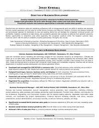 template of a resume business development managerob description template office