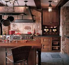 Black Rustic Kitchen Cabinets Rustic Kitchen Cabinets As A Shabby Element Home Decor