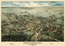 Southampton New York Map by New York Archives Knowol