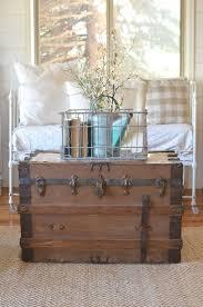 best 25 farmhouse decorative trunks ideas on rustic
