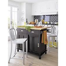 crate and barrel kitchen island belmont black kitchen island in dining kitchen storage crate and