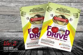 drive brochure template food drive flyer templates by kinzi21 graphicriver