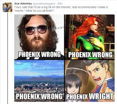 Phoenix Wright Meme - ace attorney twitter discovers memes cringeanarchy