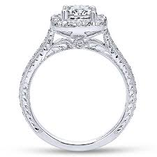 cushion engagement rings cushion cut diamond engagement rings gabriel co