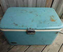 Metal Budweiser Cooler by Restoring A Vintage Cooler 10 Steps With Pictures