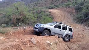 nissan xterra lifted xterra pro 4x on back road to crown king youtube