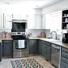 Black Appliances Kitchen Ideas White Kitchen Cabinets With Black Appliances Thecolumbia Club