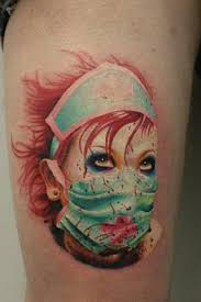 demented nurse tattoos pictures to pin on pinterest tattooskid
