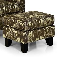 Accent Chair With Ottoman Stanton Accent Chairs And Ottomans Contemporary Accent Chair