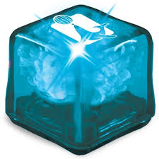 light up cubes ultra glow light up promotional cubes blue w blue led light