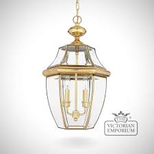 Old Lantern Light Fixtures by Newbury Large Chain Lantern Exterior Ceiling Lights