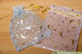 wedding gift bag 4 ways to make wedding gift bags wikihow